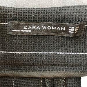 Zara Pants - Zara Pin Stripe Wide Leg High rise Pants Size XS